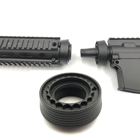 Gen9 METAL SUNRING FISHBONE ADAPTOR : BEASTPRO GEL BALL GUN BLASTER