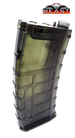 FAST FEED WAR INTEREST M4A1 / SCAR / GEN8 / PMAG TRANSPARENT MAGAZINE MAG: BeastPro UPGRADES