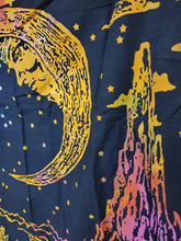 Mini The Moon Tarot Card Tie-Dye