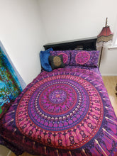 Purple Mandala Tapestry