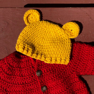 Pooh Bear Infant Outfit Costume