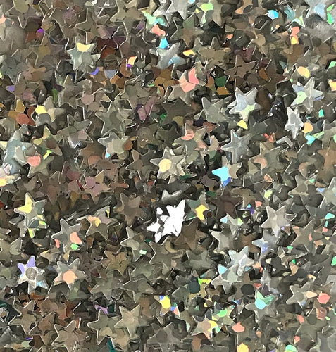 Stars Holographic  Biodegrable Glitter