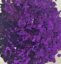 Purple Chunky Biodegrable Glitter