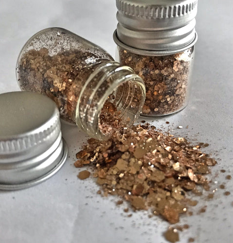 Copper Chunky Biodegrable Glitter