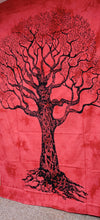 Red Tree Tapestry - Size Twin