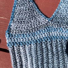 Blue Belly Tank Top