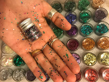 Green Fine Biodegrable Glitter