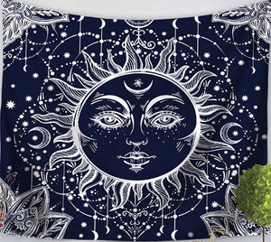 Dark Side of the Sun Tapestry