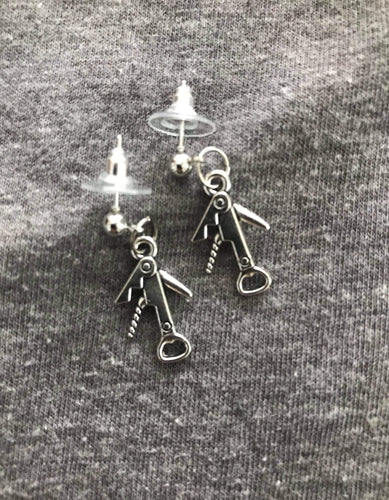 Cork Screw Earrings