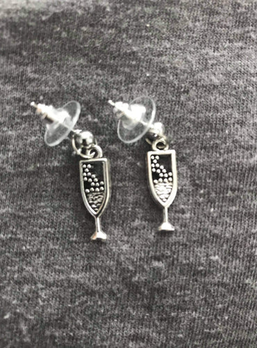 Bubbly Champagne Earrings