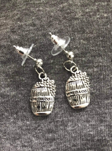Wine Barrel Earrings