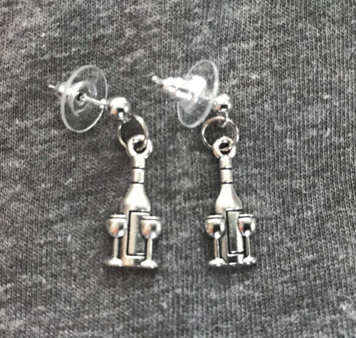 Wine Glass & Bottle Earrings