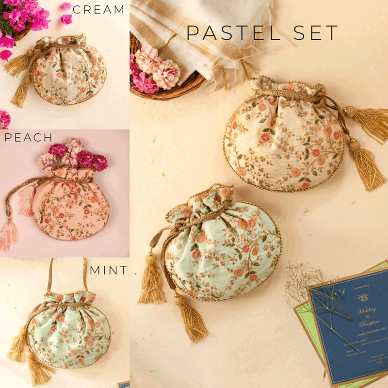 Floral Creeper favours - Pastel set of 15 - AMYRA