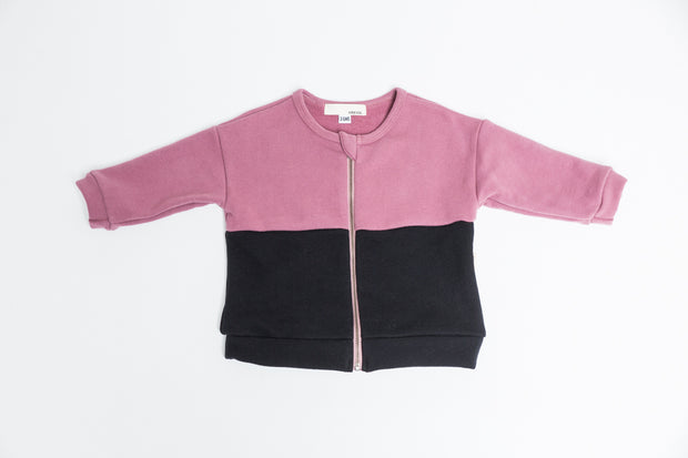 The Colourblock Zip-Up
