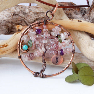 Necklace - Tree Of Life Pendant | SAKURA BLOSSOMS
