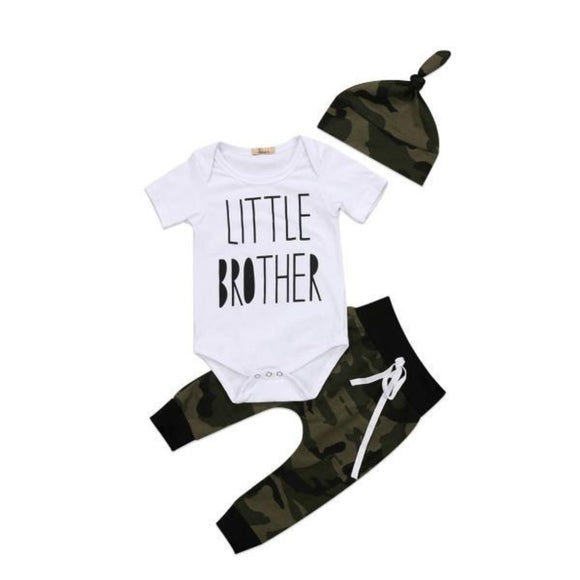 Little Brother Camo 3 piece set