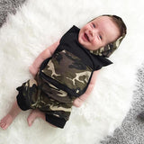Camo Hooded Tank Set