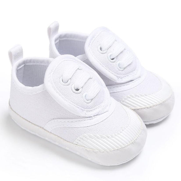 White Soft Sneakers