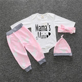 Girl's 4 piece set