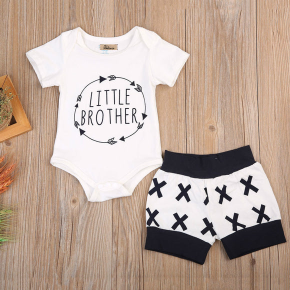 Little brother newborn clothing