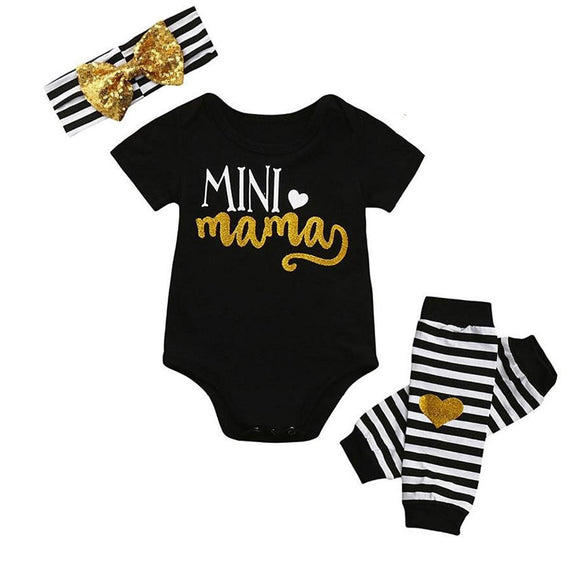 Mini Muma - Baby Girl romper set