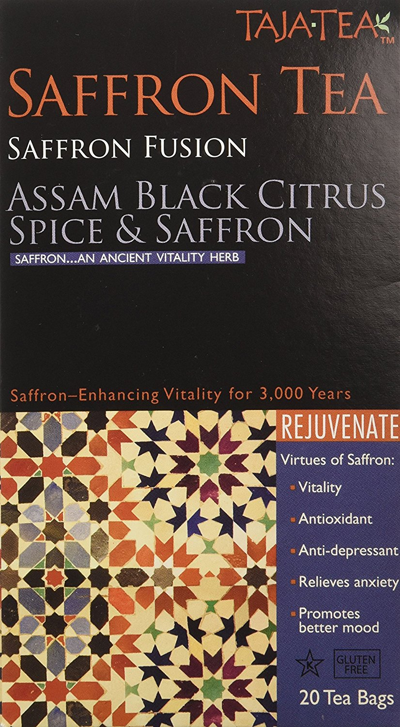 Taja Tea Assam Black Citrus Spice and Saffron