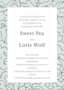 Sweet Pea & Little Wolf Wedding Favours