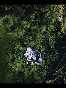 Little Wolf Enamel Pin 🐺🐾