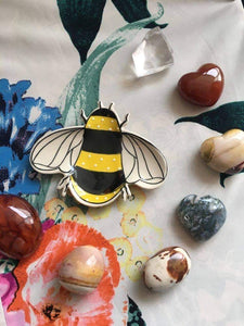 Busy Bee Tea Dish