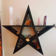 Magical Pentagram Wall Shelves Dreamers 🖤✨