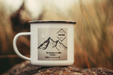Little Wolf Enamel Mug