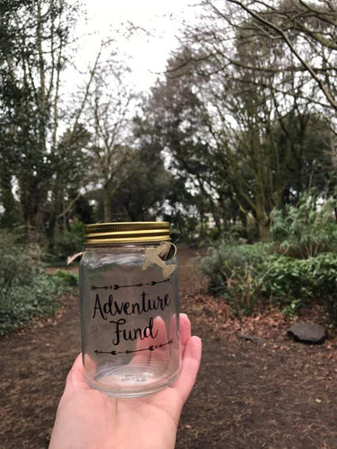 Adventure Money Fund Jar ⛺️