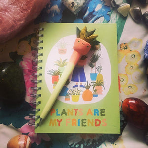 Plants are my friends Notebook 🪴
