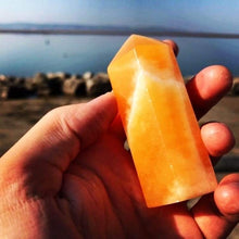 Orange Calcite Points 🧡