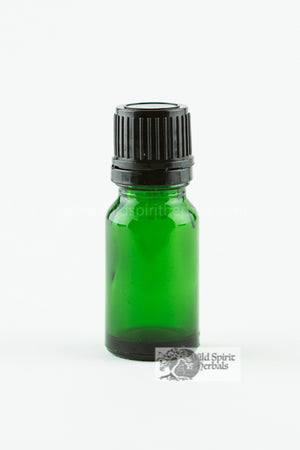 15 Ml Green Essential Oil Bottle
