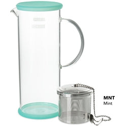 Lucent Glass Iced Tea Jug w/ Capsule Infuser