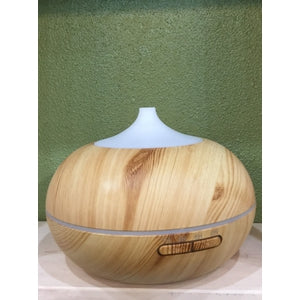 Round Wood Grain-like Diffuser