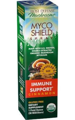 Host Defense Myco Shield Immune Spray Cinnamon