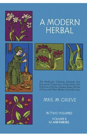 A Modern Herbal Vol. II