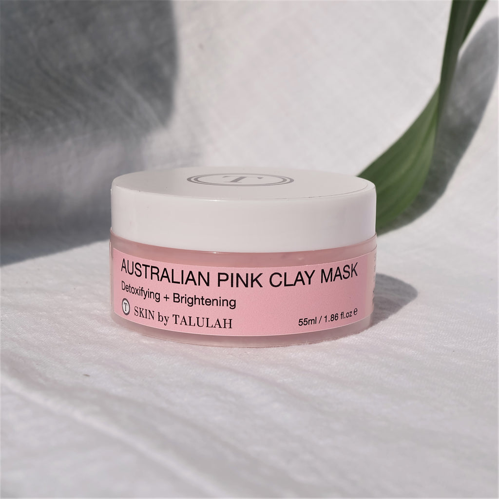 Australian Pink Clay Face Mask