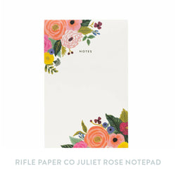 Rifle Paper Co Juliet Rose Notepad