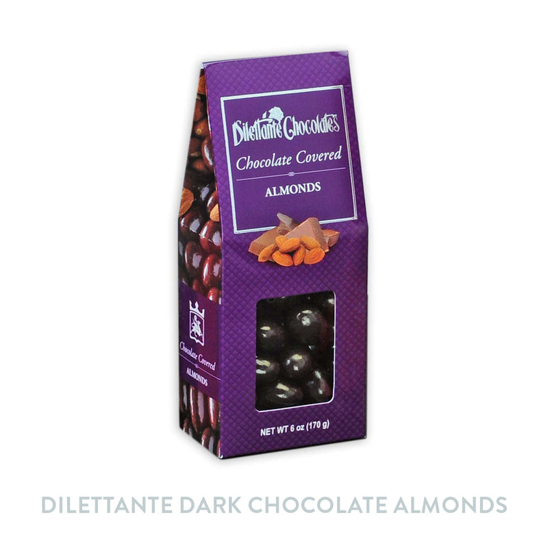 Dilettante Dark Chocolate Almonds