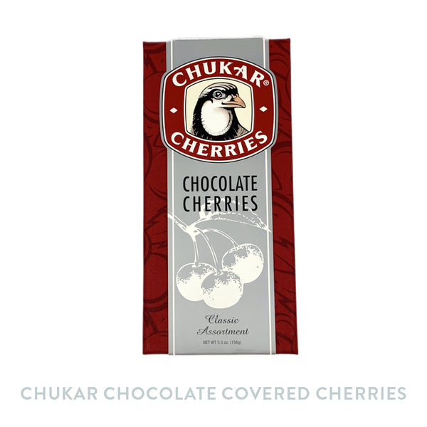 Chukar Chocolate Covered Cherries Gift Box