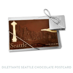 Dilettante Chocolate Seattle Postcard