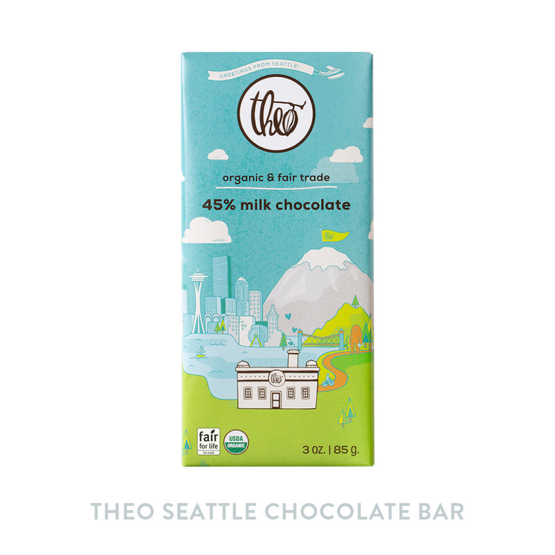 Theo Seattle Chocolate Bar