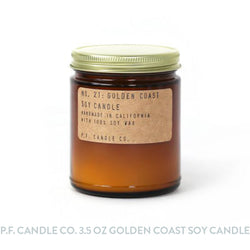 P.F. Candle Co. 3.5 oz Golden Coast Soy Candle