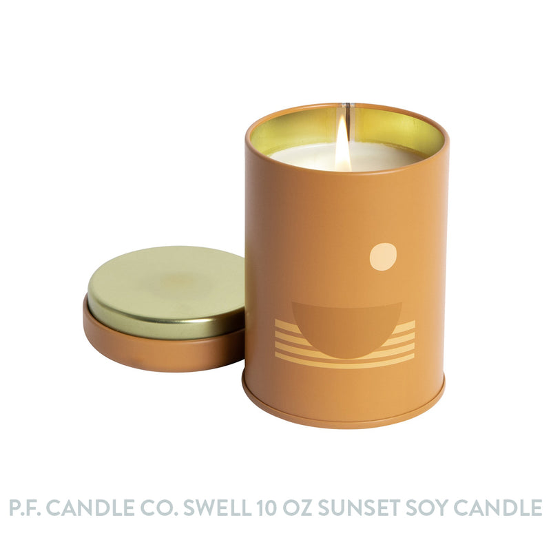 P.F. Candle Co. Swell 10 oz Sunset Soy Candle