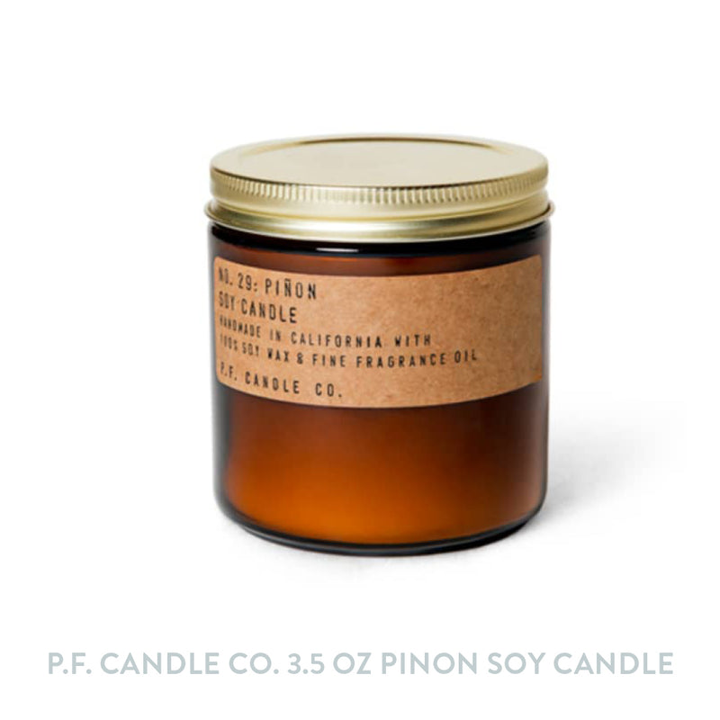 P.F. Candle Co. 3.5 oz Pinon Soy Candle