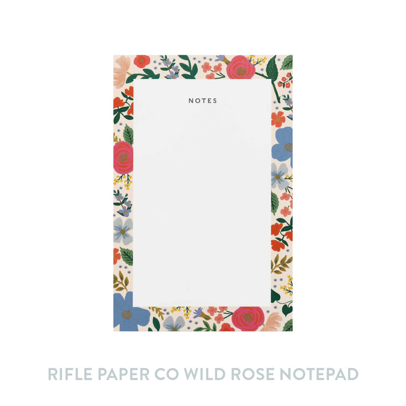 Rifle Paper Co Wild Rose Notepad