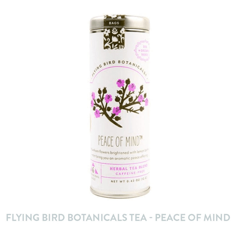 Flying Bird Botanicals Tea - Peace of Mind